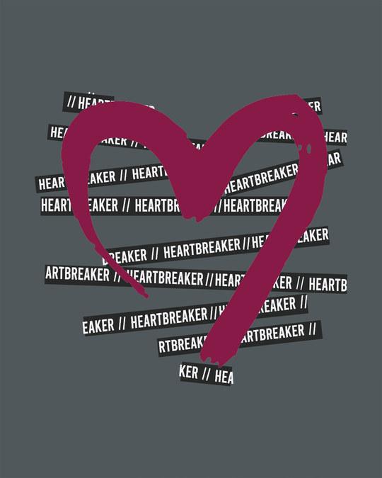 Shop Heartbreaker Scoop Neck Full Sleeve T-Shirt-Full