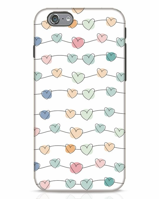 Shop Hearts iPhone 6 Mobile Cover-Front