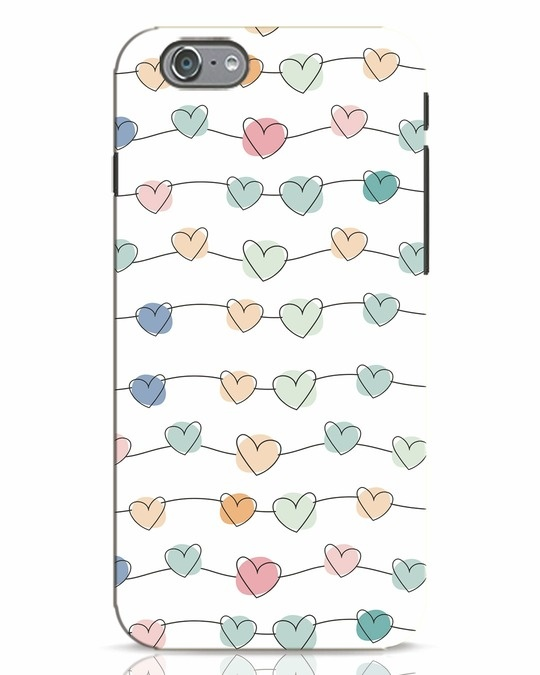 Shop Hearts iPhone 6s Mobile Cover-Front