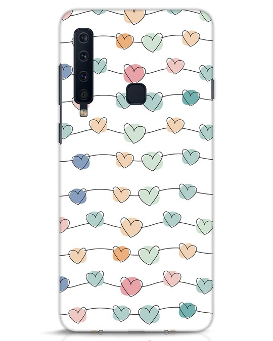 Shop Hearts Samsung Galaxy A9 2018 Mobile Cover-Front