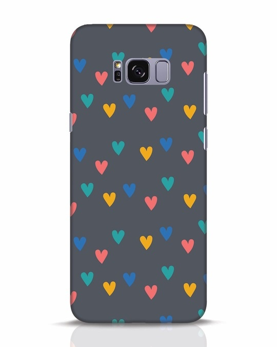 Shop Hearts Samsung Galaxy S8 Plus Mobile Cover-Front