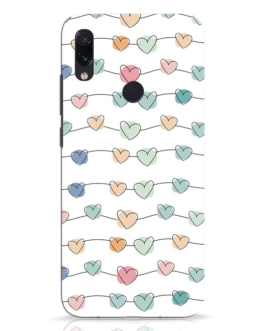 Shop Hearts Xiaomi Redmi Note 7 Mobile Cover-Front