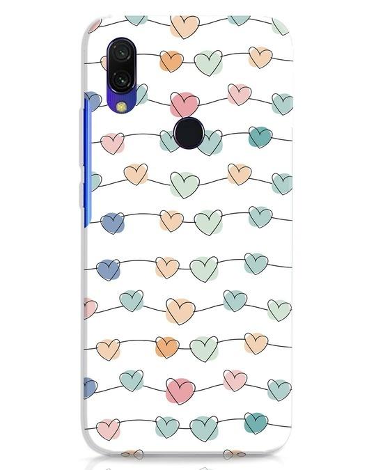 Shop Hearts Xiaomi Redmi Y3 Mobile Cover-Front