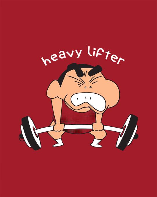 Shop Heavy Lifter Shinchan Boyfriend T-Shirt (SHL)