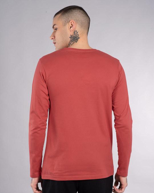 Shop Heavy Lifter Shinchan Full Sleeve T-Shirt (SHL)-Back