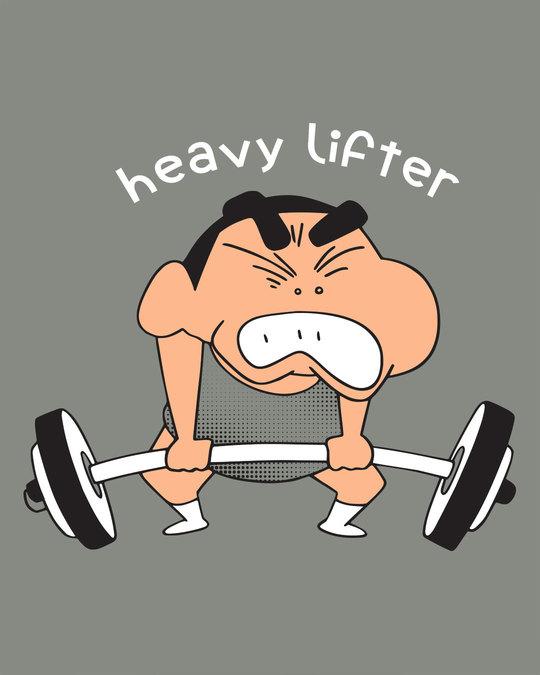 Shop Heavy Lifter Shinchan Half Sleeve T-Shirt (SHL)
