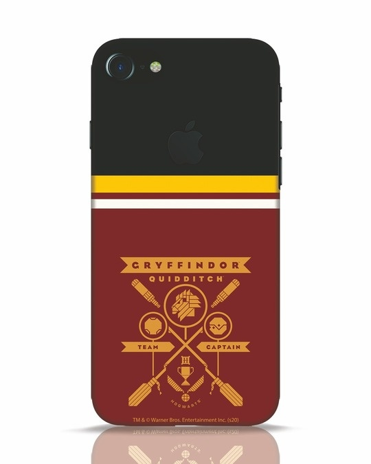 Shop Heir Of Godric Gryffindor iPhone 7 Logo Cut Mobile Cover-Front