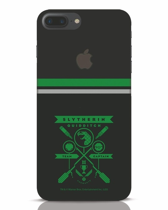 Shop Heir Of Salazar Slytherin iPhone 7 Plus Logo Cut Mobile Cover-Front