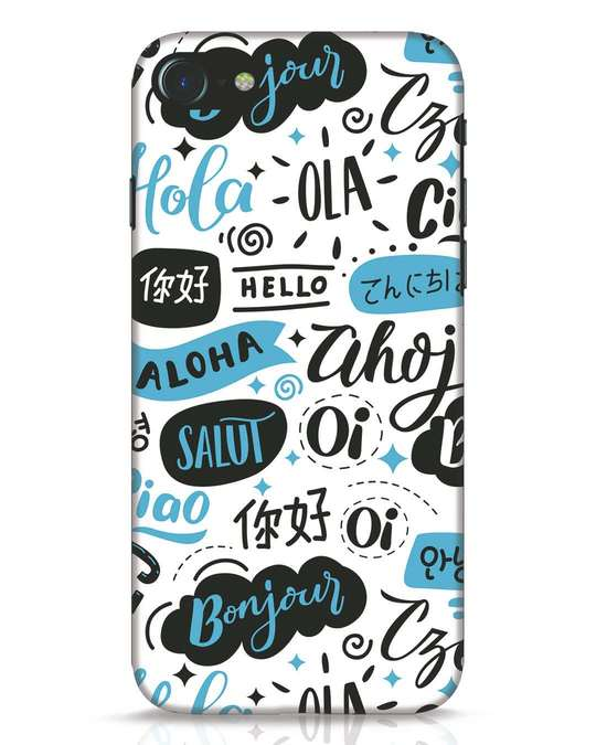Shop Hello iPhone 7 Mobile Cover-Front