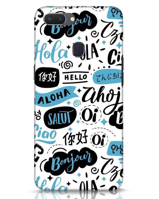 Shop Hello Realme 2 Mobile Cover-Front
