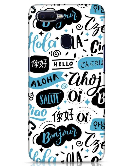 Shop Hello Realme 2 Pro Mobile Cover-Front