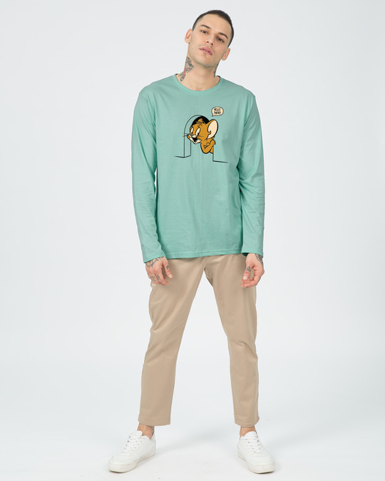 Shop Hello There Jerry Full Sleeve T-Shirt (TJL)-Full
