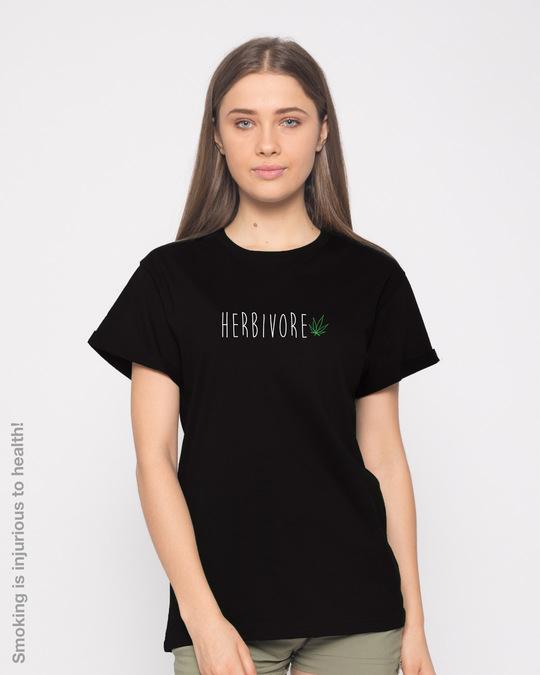Shop Herbivore Boyfriend T-Shirt-Front