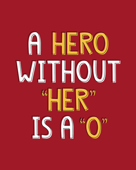 Shop Hero Boyfriend T-Shirt