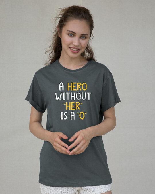 Shop Hero Boyfriend T-Shirt-Front
