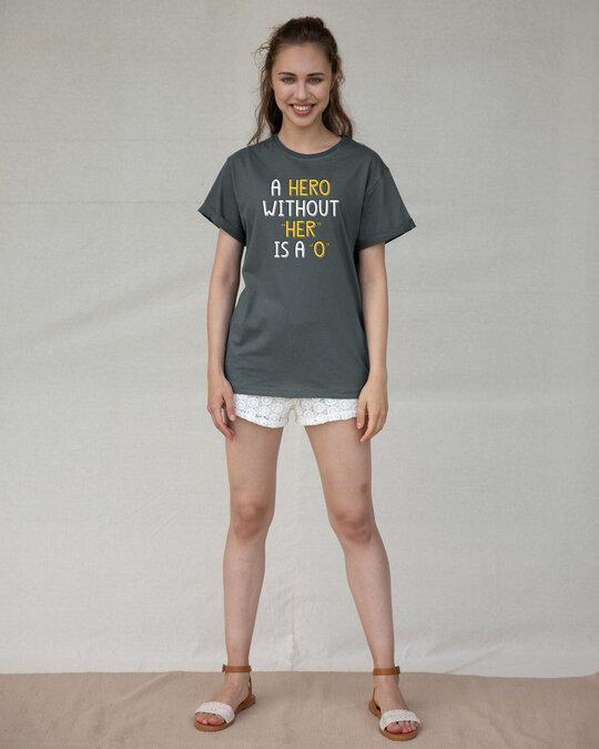 Shop Hero Boyfriend T-Shirt-Design