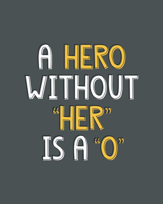 Shop Hero Boyfriend T-Shirt-Full