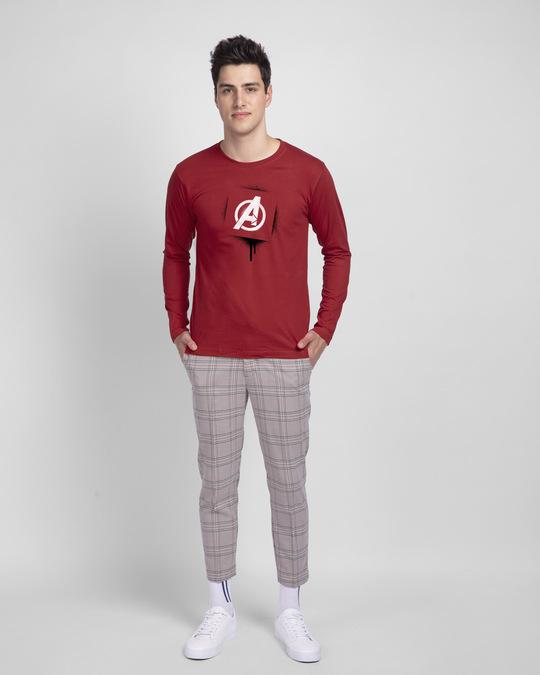 Shop Hero For Life Full Sleeve T-Shirt (AVL)-Full