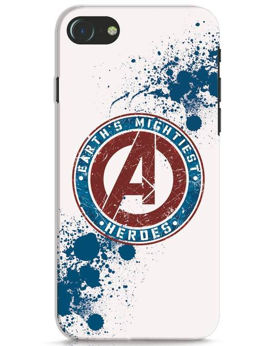 Shop Heroes iPhone 7 Mobile Cover-Front