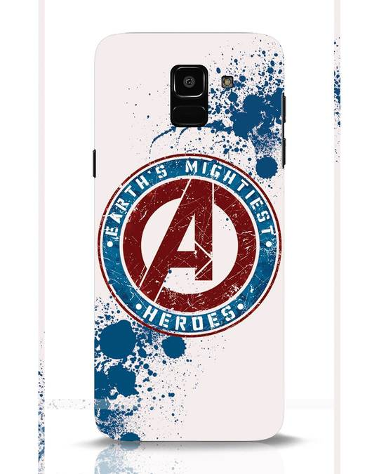 Shop Heroes Samsung Galaxy J6 Mobile Cover-Front