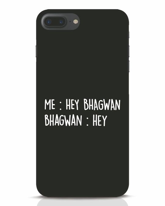 Shop Hey Bhagwan iPhone 7 Plus Mobile Cover-Front