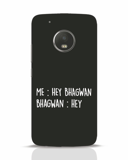 Shop Hey Bhagwan Moto G5 Plus Mobile Cover-Front