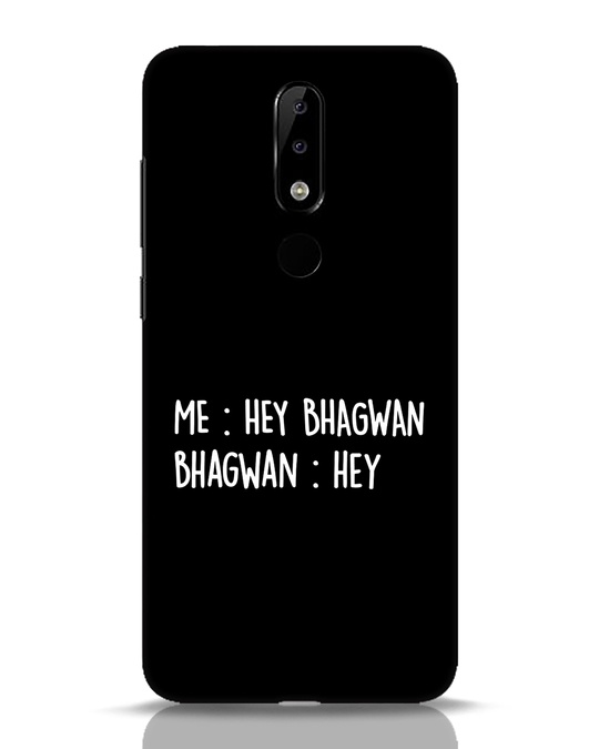 Shop Hey Bhagwan Nokia 5.1 Plus Mobile Cover-Front