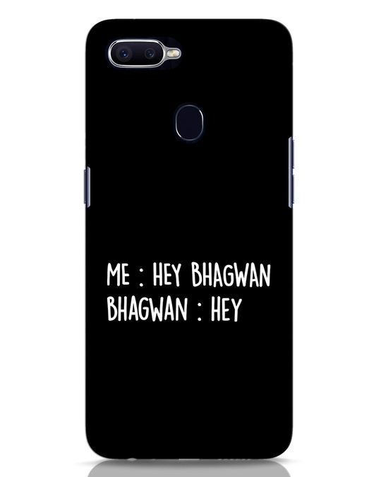 Shop Hey Bhagwan Oppo F9 Pro Mobile Cover-Front