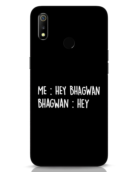 Shop Hey Bhagwan Realme 3 Mobile Cover-Front