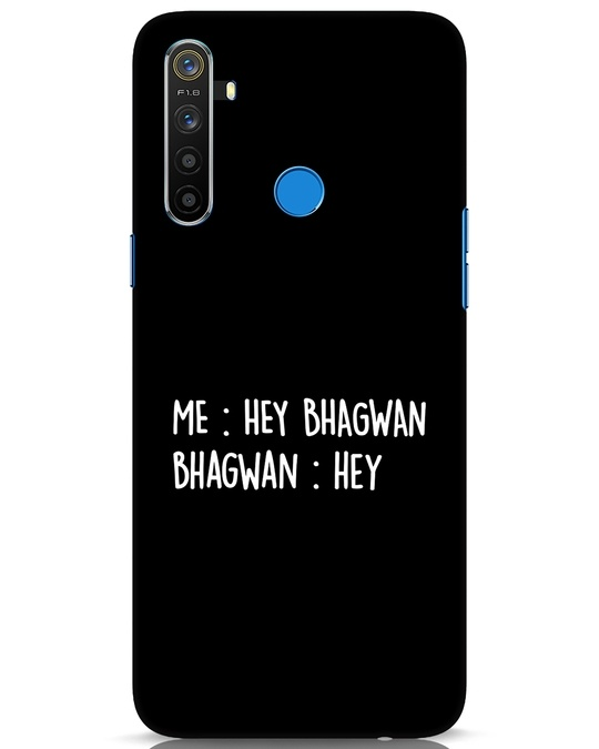 Shop Hey Bhagwan Realme 5 Mobile Cover-Front