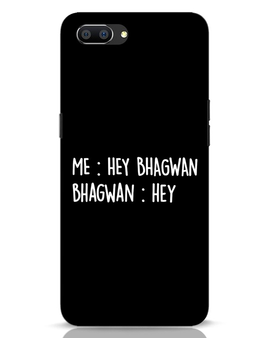 Shop Hey Bhagwan Realme C1 Mobile Cover-Front