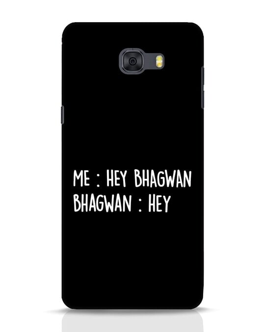 Shop Hey Bhagwan Samsung Galaxy C9 Pro Mobile Cover-Front