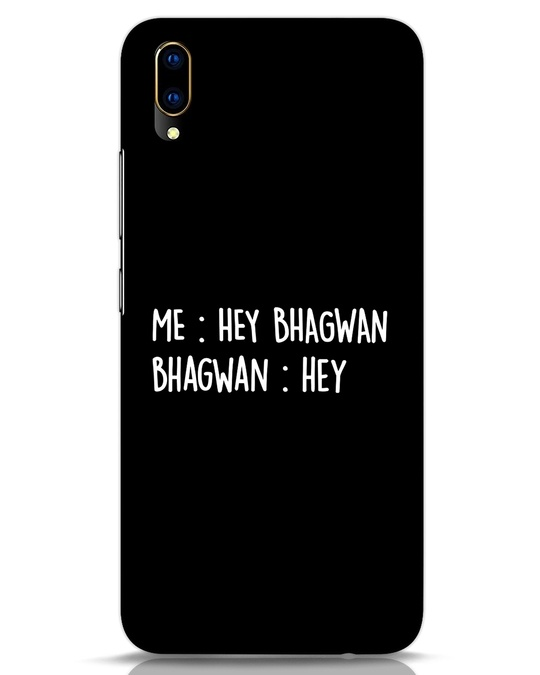 Shop Hey Bhagwan Vivo V11 Pro Mobile Cover-Front