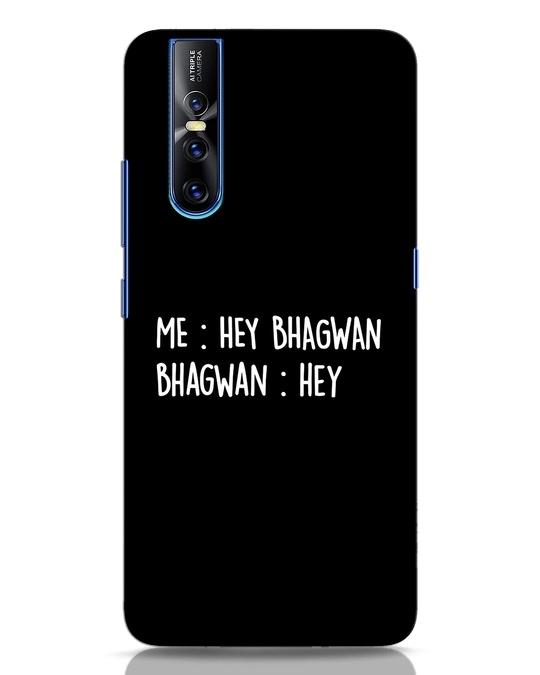 Shop Hey Bhagwan Vivo V15 Pro Mobile Cover-Front
