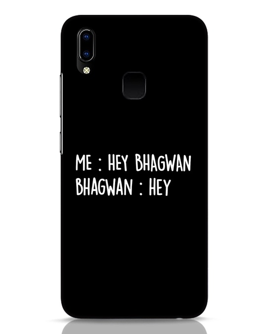 Shop Hey Bhagwan Vivo Y93 Mobile Cover-Front