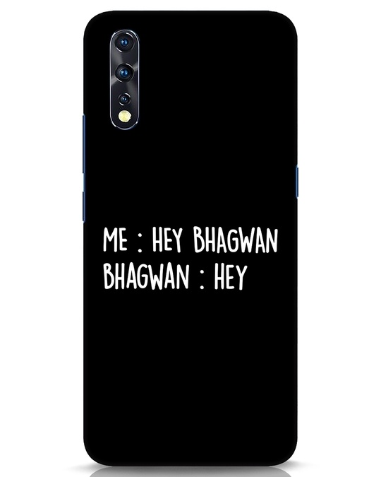 Shop Hey Bhagwan Vivo Z1x Mobile Cover-Front