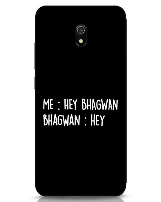 Shop Hey Bhagwan Xiaomi Redmi 8A Mobile Cover-Front