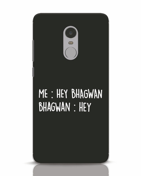 Shop Hey Bhagwan Xiaomi Redmi Note 4 Mobile Cover-Front
