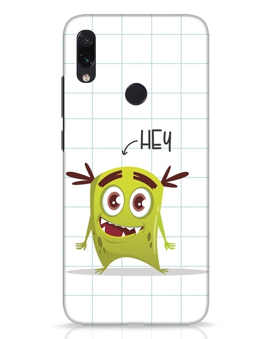 Shop Hey Monster Xiaomi Redmi Note 7 Pro Mobile Cover-Front