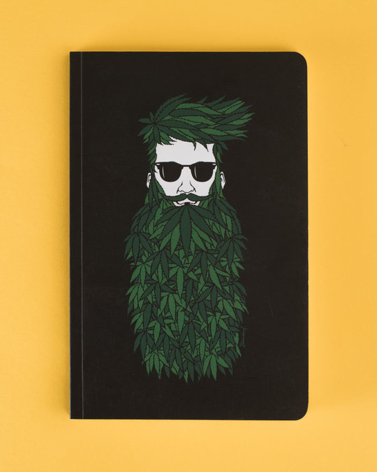 Shop High Beard Notebook-Front