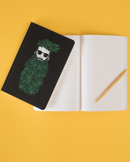 Shop High Beard Notebook-Back
