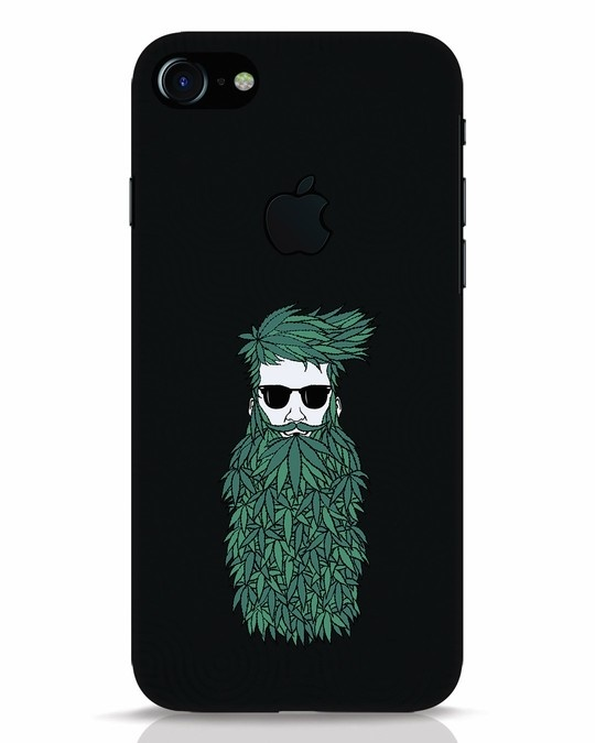Shop High Beard iPhone 7 Logo Cut Mobile Cover-Front