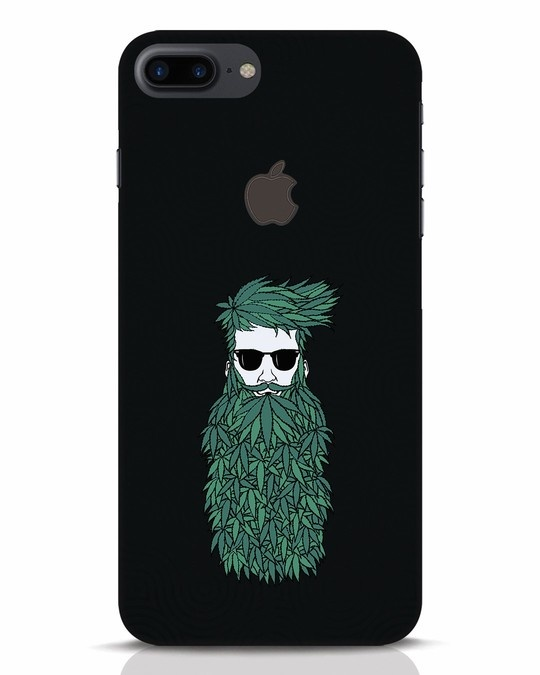 Shop High Beard iPhone 7 Plus Logo Cut Mobile Cover-Front