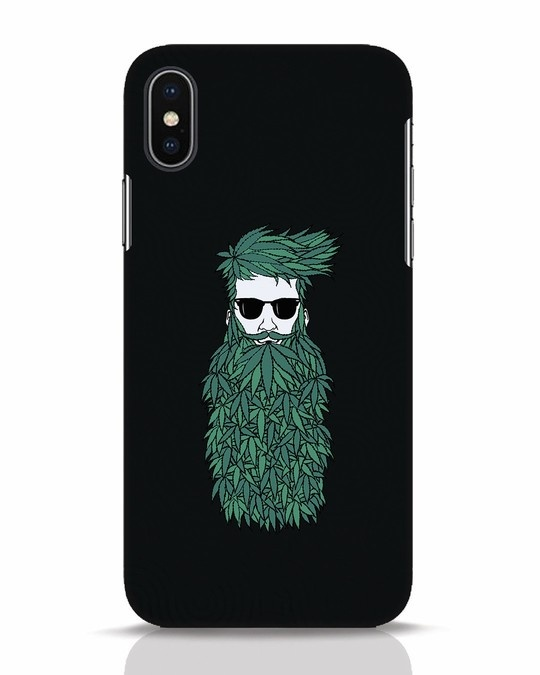 Shop High Beard iPhone X Mobile Cover-Front