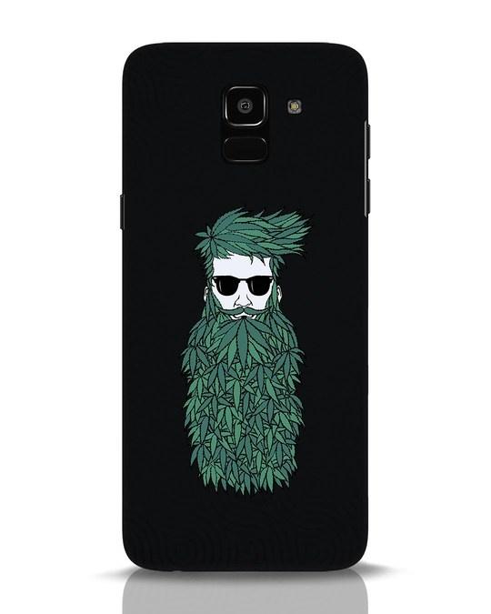 Shop High Beard Samsung Galaxy J6 Mobile Cover-Front