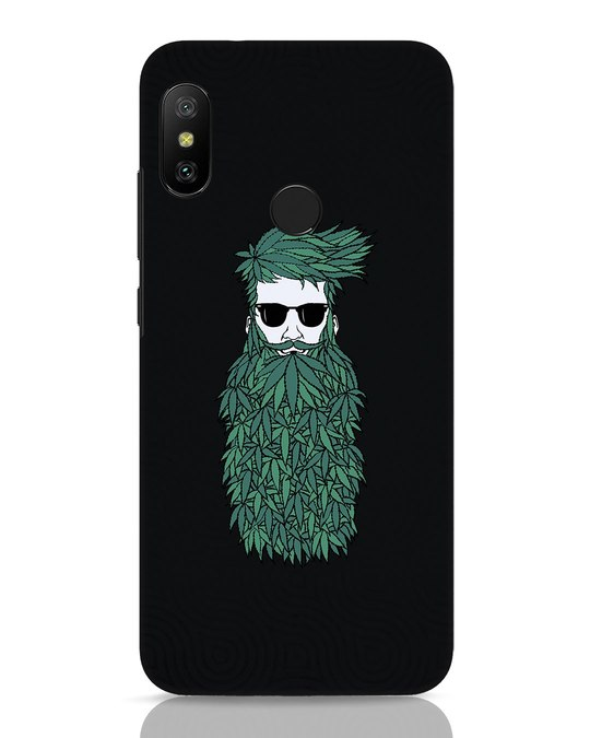 Shop High Beard Xiaomi Redmi 6 Pro Mobile Cover-Front