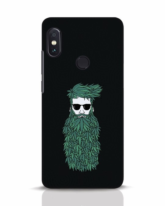 Shop High Beard Xiaomi Redmi Note 5 Pro Mobile Cover-Front