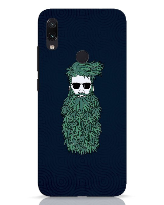 Shop High Beard Xiaomi Redmi Note 7 Pro Mobile Cover-Front