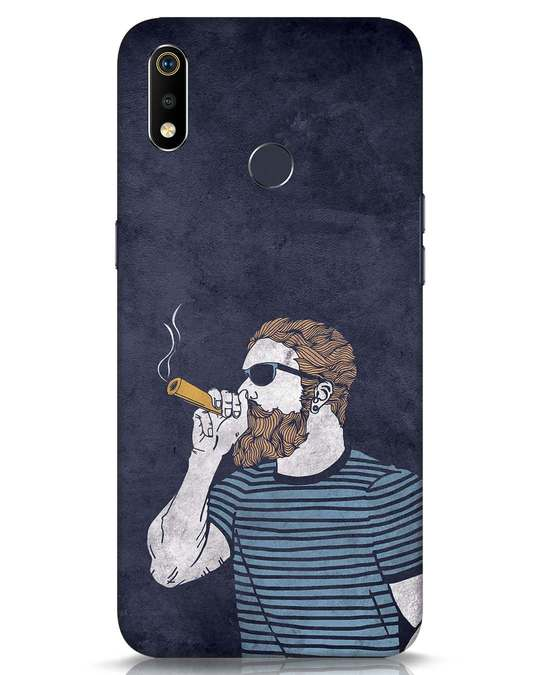 Shop High Dude Realme 3i Mobile Cover-Front