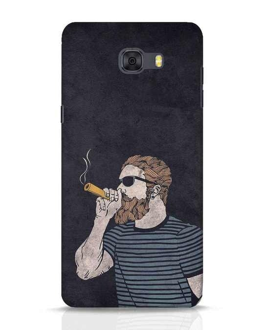 Shop High Dude Samsung Galaxy C9 Pro Mobile Cover-Front